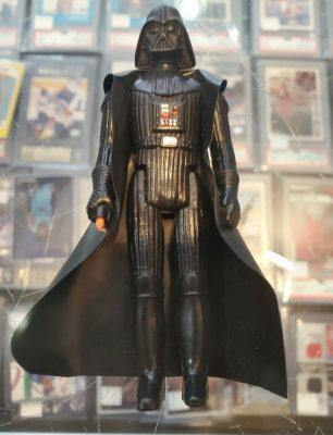 1977 Kenner Toys Darth Vader Star Wars Action Fugure w/Cap No Tip Honk Kong - FLIP Collectibles Shop