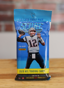 2020 Panini Score Football Card Cello Fat Pack