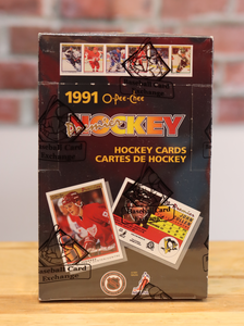 1990/91 OPC O-Pee-Chee Premier Hockey Card Wax Box (36 Packs)