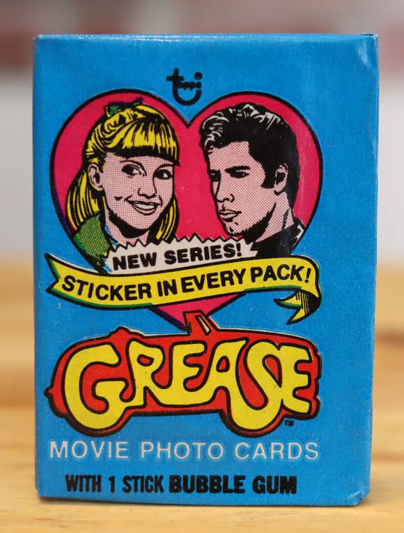 1979 Topps Grease Movie Trading Photo Cards Wax Pack