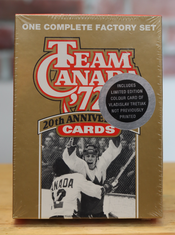 1992 - '72 Team Canada Hockey Card Sealed Factory Set