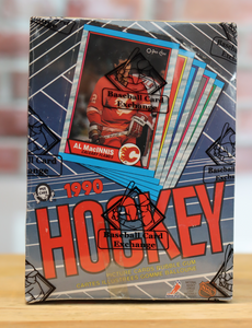 1989/90 OPC O-Pee-Chee Hockey Card Wax Box (48 Packs) BBCE Authenticated