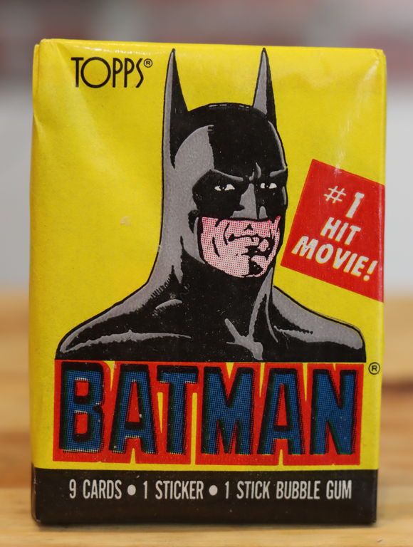 1989 Topps Batman Movie Trading Photo Cards Wax Pack