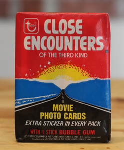 1978 Topps Close Encounters Movie Trading Photo Cards Wax Pack