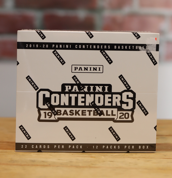 2019/20 Panini Contenders Basketball Card Cello Fat Pack Box (12 Packs)