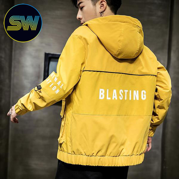Blasting Graphic Jacket