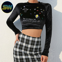 Planets Graphic Top