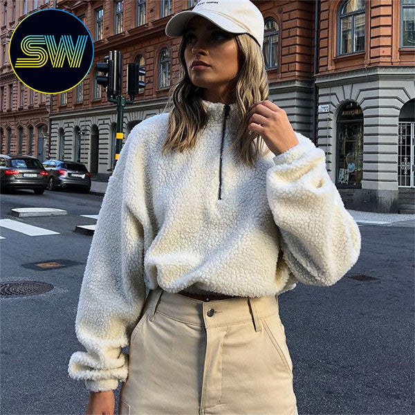 Oversize Lambswool Pullover