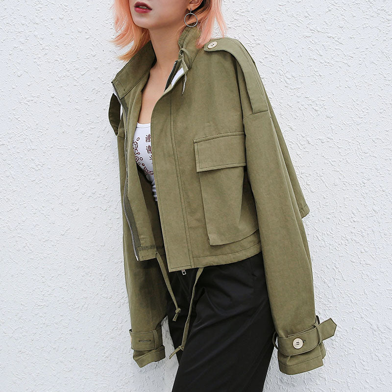 Cargo Long Sleeve Jacket