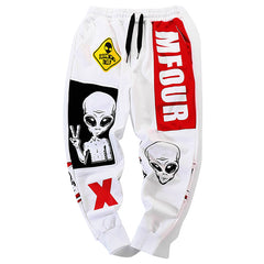 Alien Graphic Joggers