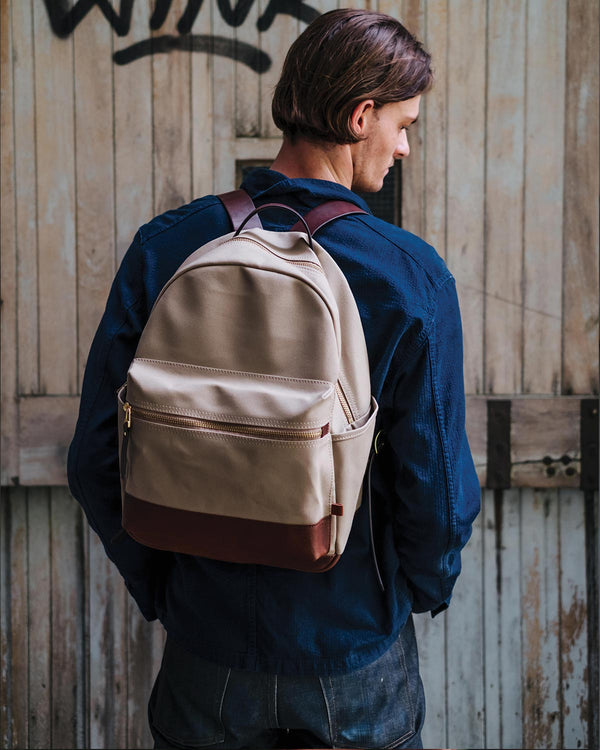 ATOMI Canvas Backpack