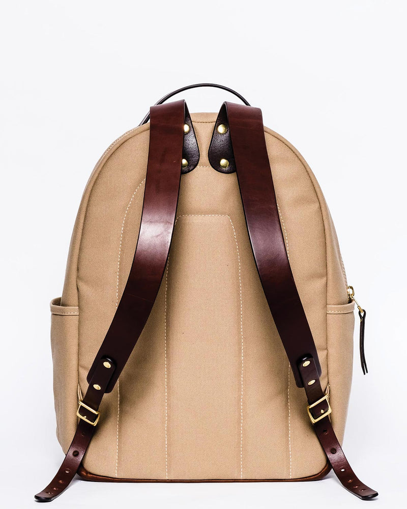 Blue & Grae ATOMI Canvas Backpack Beige 2019