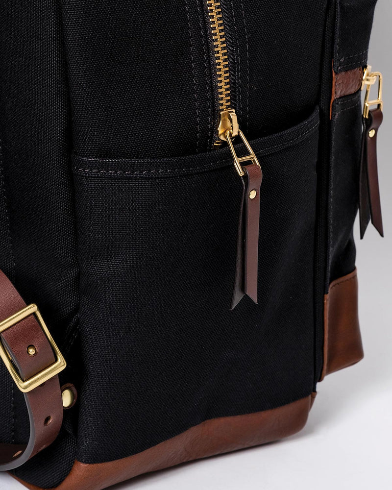 Blue & Grae ATOMI Canvas Backpack Black 2019