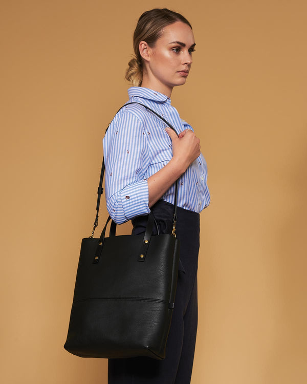Blue & Grae ELCHO Crossbody Tote Black 2019