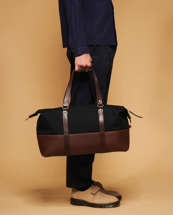 Blue & Grae KOJI Canvas Weekender Black 2019