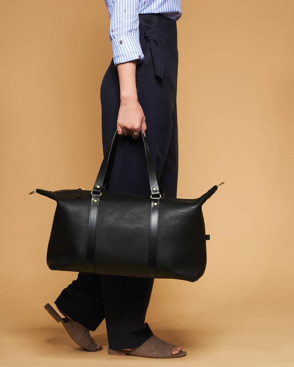 Blue & Grae OTANI Leather Weekender Black 2019