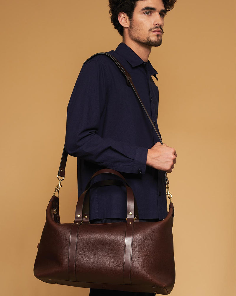 Blue & Grae OTANI Leather Weekender Brown 2019