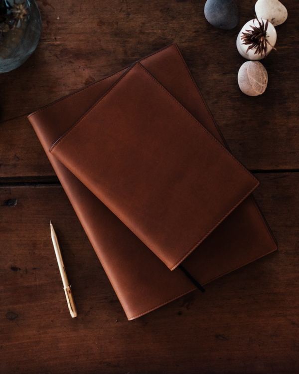 DENIKA A4/A5 Leather Diary Cover