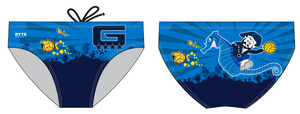 Grant High School Water Polo Custom Men's Water Polo Brief
