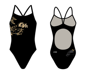 Citrus Valley High School Swim 2019 Team Active Back Thin Strap Swimsuit