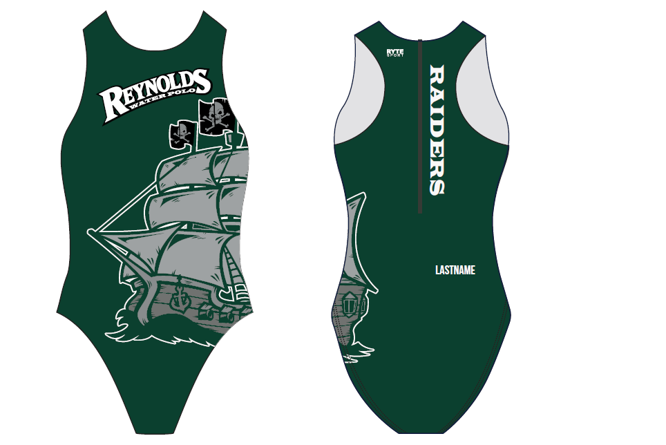 Reynolds Raiders Custom Women's Water Polo Suit