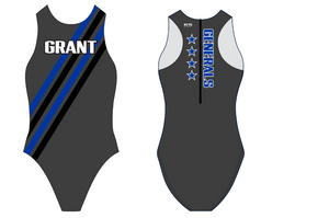 Grant High School Water Polo Custom Women's Water Polo Suit