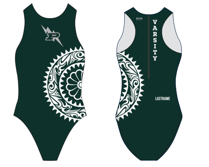Poway High School Varsity Girl's Water Polo Suit