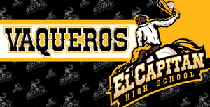 El Capitan High School Water Polo Custom Towel