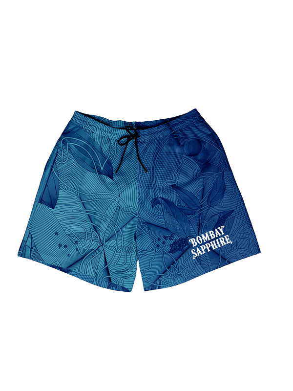 Bombay Blue Olive Swim Short
