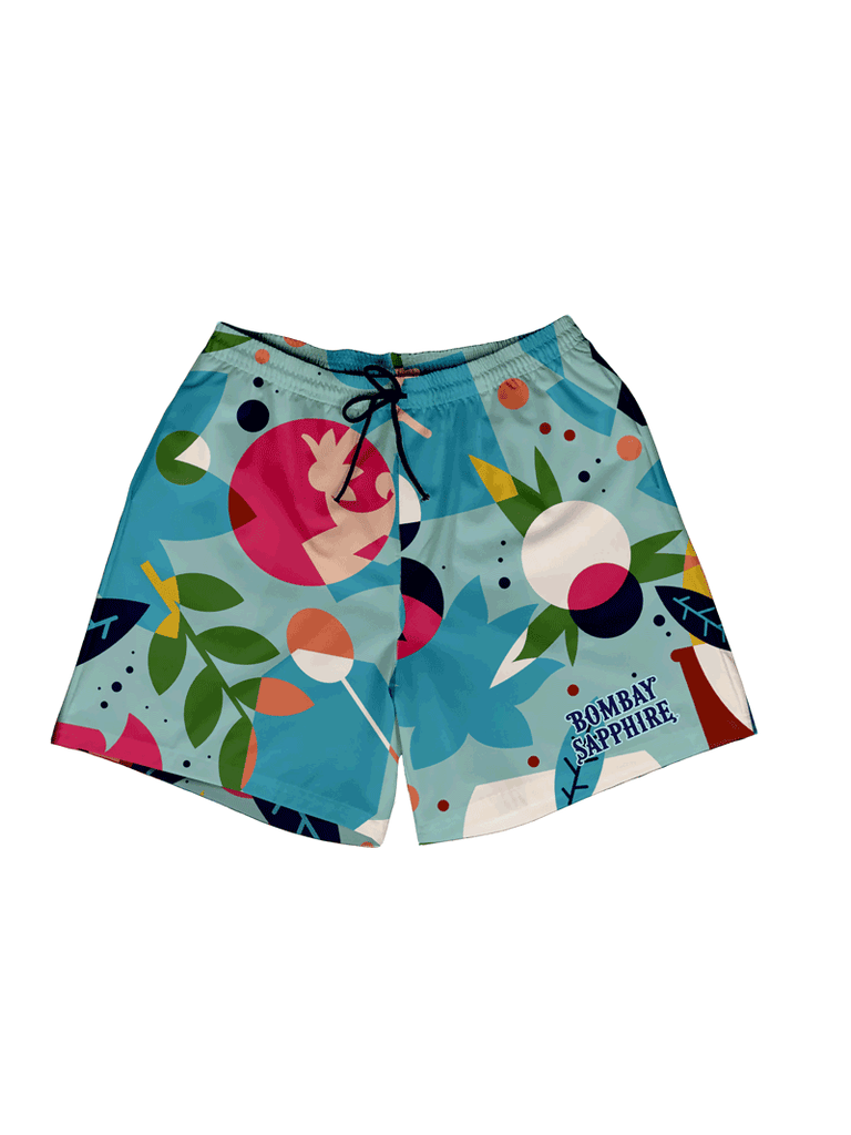 Bombay Light Blue Swim Short