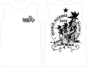 Diablo Alliance Hawaii Trip Custom Women's Boyfriend Fit T-Shirt