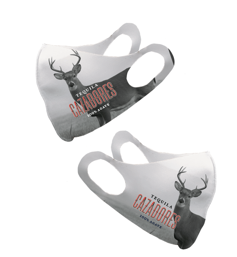 Cazadores Deer Olson Face Mask
