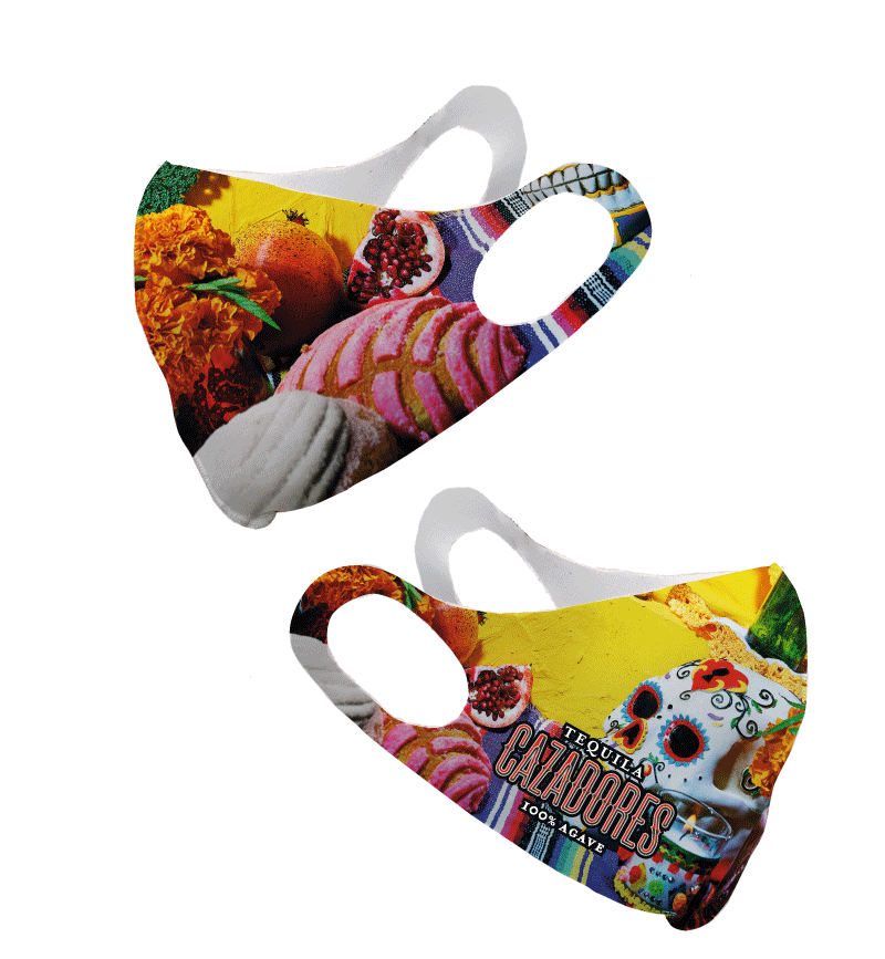 Cazadores Yellow Olson Face Mask