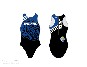 Encinal High School Water Polo 2019 Custom Women's Water Polo Suit