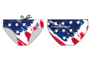 Fike Custom Flag Men's Water Polo Briefs