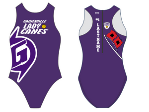 Gainesville High School 2020 Custom Women's Water Polo Suit