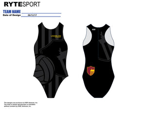 Lindblom Women's Water Polo Suit