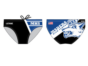 Madera Custom Swim Brief - Personalized