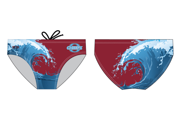 Okemos High School Custom Men's Swim & Water Polo Brief
