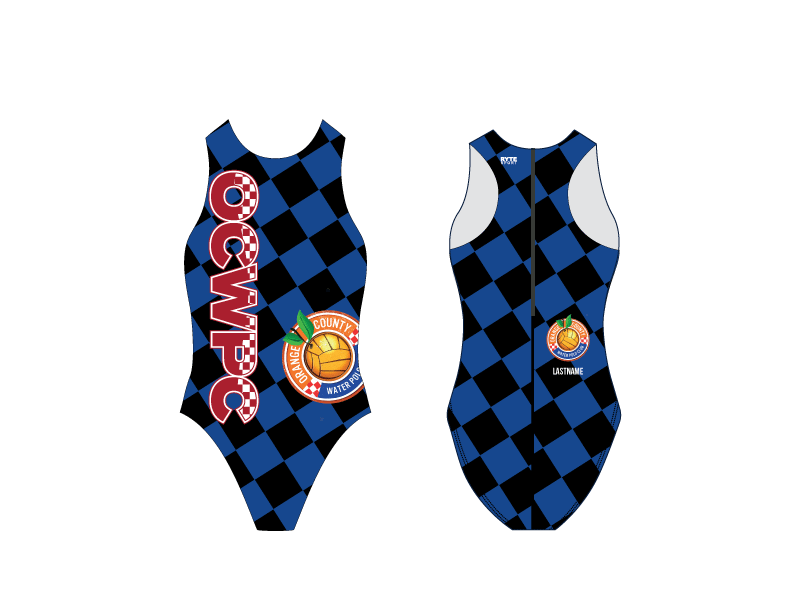 Orange County Water Polo Club 2019 Girls Water Polo Suit - Personalized