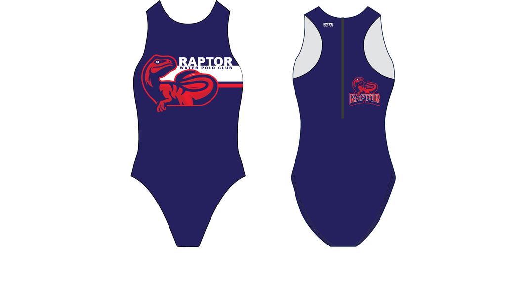 Raptor Water Polo Club Custom Women's Water Polo Suit