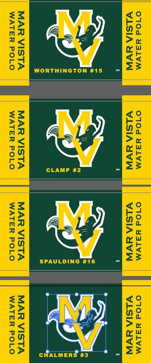 Mar Vista Senior Towels (4 Separate towels)