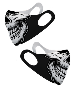 Skull Face Olson Face Mask