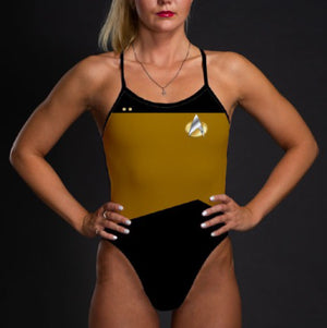 Star Trek: The Next Generation Women's Operations Uniform Swimsuit