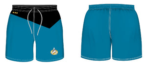 Star Trek: The Next Generation Men's Science Uniform Swim Trunk