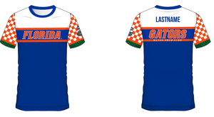 University of Florida Club Water Polo 2019 Blue Dry Fit Jersey - Personalized