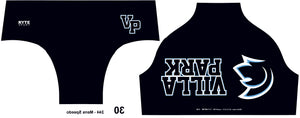 Villa Park High School 2019 Custom Men's Water Polo Brief