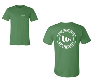 WellU Men's Leaf Green T-Shirt