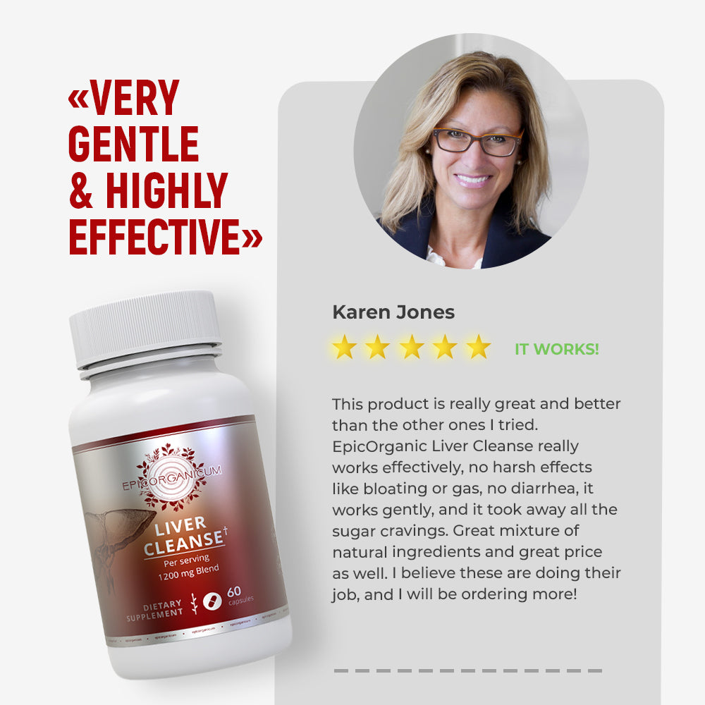 EpicOrganic - Liver Cleanse - Support System for Detoxification and Liver Support