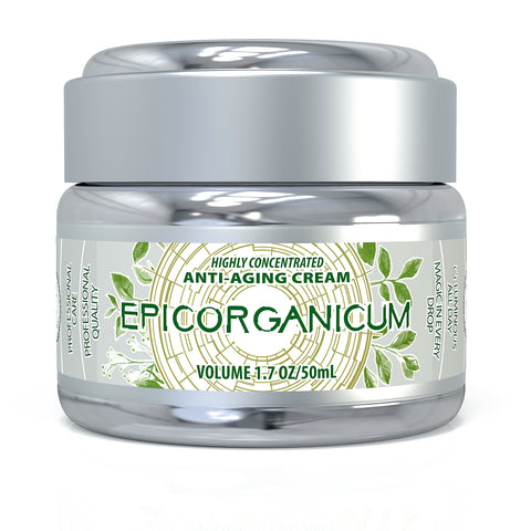 EpicOrganic Anti-Aging Wrinkle Cream With Growth Factors & Niacinamide